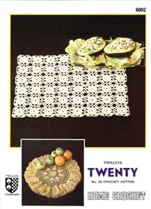 Twilleys Crochet Pattern 6002