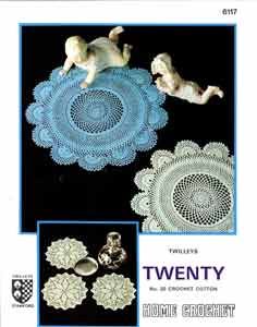 Twilleys Crochet Pattern 6117