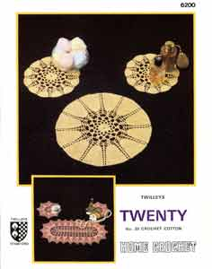 Twilleys Crochet Pattern 6200