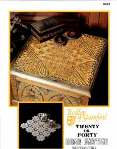 Twilleys Crochet Pattern 6423