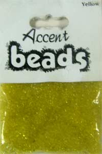 Accent Beads Yellow