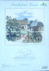 Appletree Farm Cross Stitch Kit.