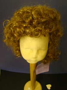 Very Curly Dolls Wig
