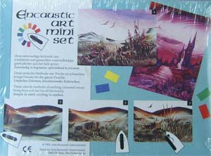 Glossop Crafts Catalogue Encaustic Art Mini Set Details