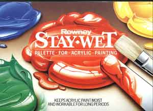 Rowney Stay West Palette for Acrylic Painting