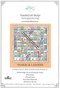 DoodleCraft Design Snakes and Ladders Cross Stitch Kit