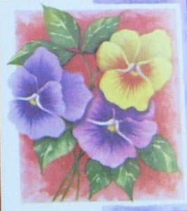 6 Pansy Toppers