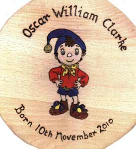 Noddy Christening Stool